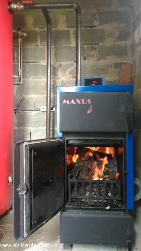 Монтаж котла 27 kW в ресторане