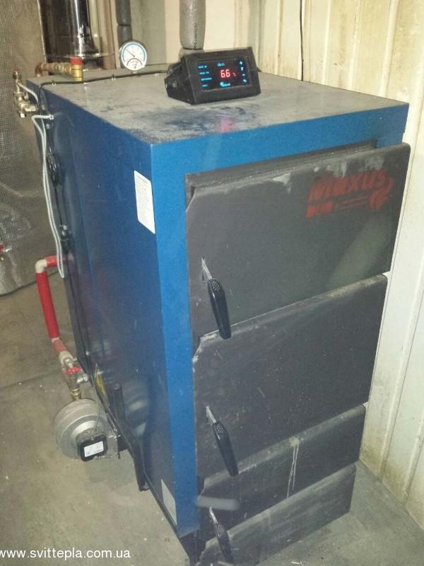 Монтаж котла 27 кВт в будинку