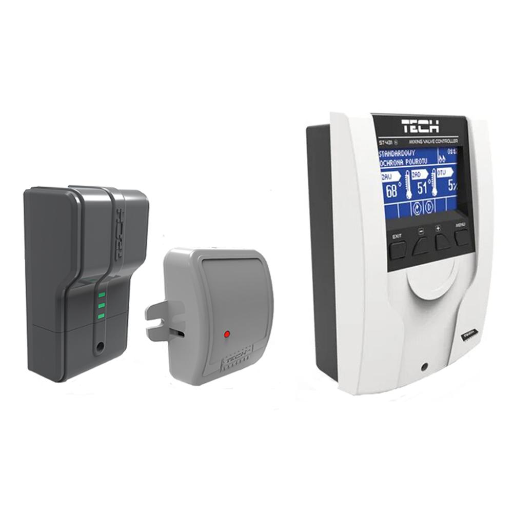 Погодозависимая автоматика отопления