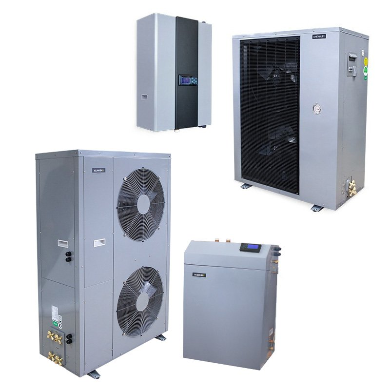 Теплові насоси для центрального опалення