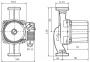 Насос циркуляционный Wilo Star RS 25/7-130мм серый фото товара 0
