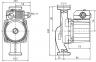 Насос циркуляционный Wilo Star RS 25/6 180мм G фото товара 0