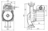 Насос циркуляционный Wilo Star RS 30/8-180мм фото товара 0