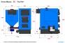 Котел с автоподачей Maxus TRIO UNI 98 кВт фото товара 2
