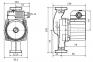 Насос рециркуляционный Wilo Star-Z 20/5 EM фото товара 0
