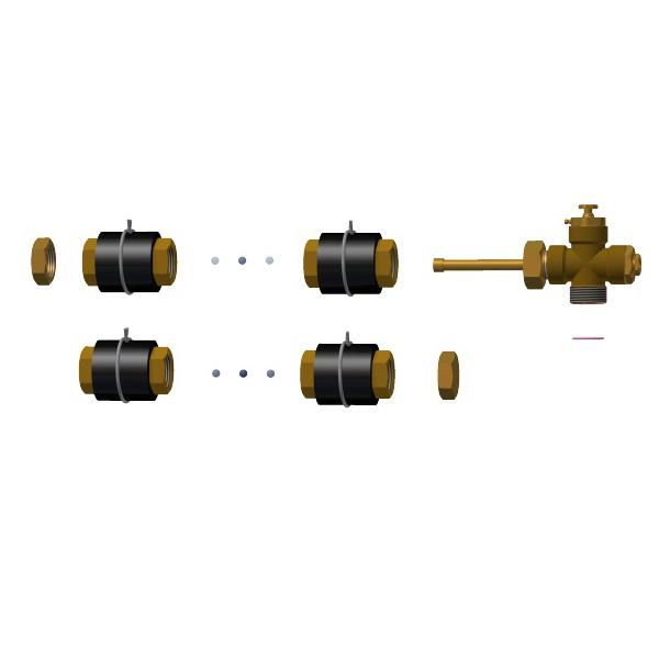 Комплект для соединения Hewalex ZPKS 5 фото товара