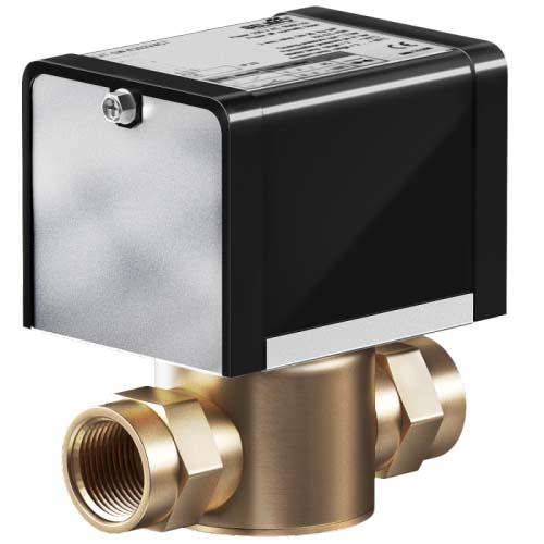 Двухходовой клапан с сервоприводом фото товара