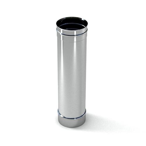 Труба дымоходная 0,8мм, 250мм фото товара