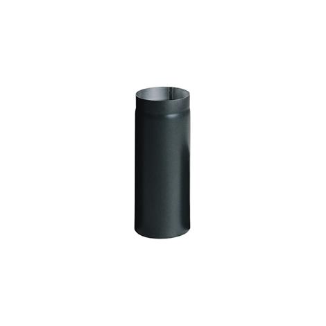 Жаростійка труба сталева димохідна 120мм, 0,5м фото товара