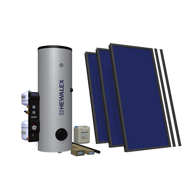 Солнечный комплект Hewalex 3 TLPAC-KOMPAKT300HB (KS2100) фото товара