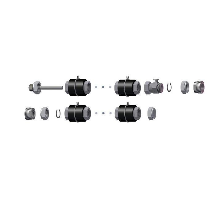 Комплект для соединения Hewalex ZPKS 7 Am фото товара
