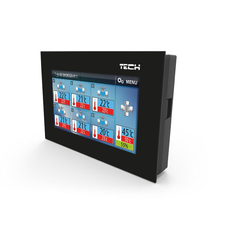 Беспроводной комнатный регулятор двухрежимный для коллектора Tech M-6 фото товара
