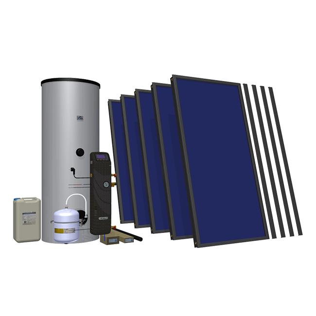Солнечный комплект Hewalex 5 TLPAC-500 (KS2100) фото товара