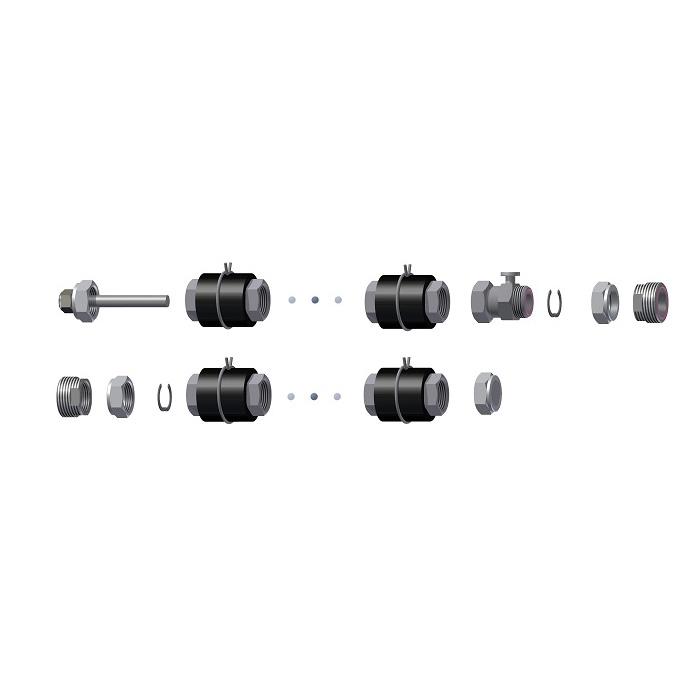 Комплект для соединения Hewalex ZPKS 8 Am фото товара