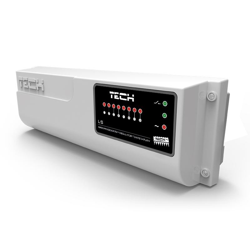 Контроллер проводной Tech L-5 (8 зон) фото товара