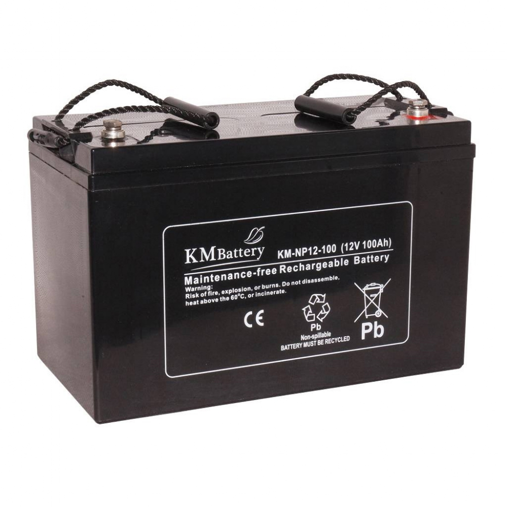 Аккумулятор KM Battery NP 100A-12V AGM фото товара