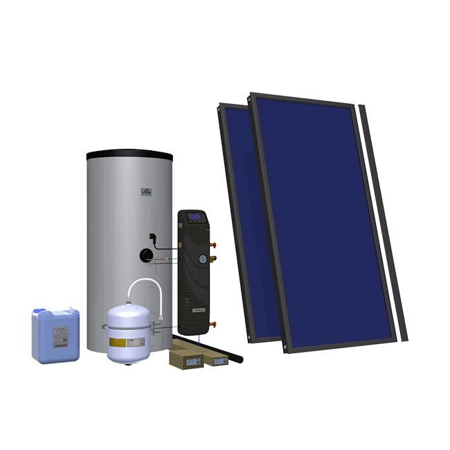 Солнечный комплект Hewalex 2 TLPAC-200 (KS2100) фото товара