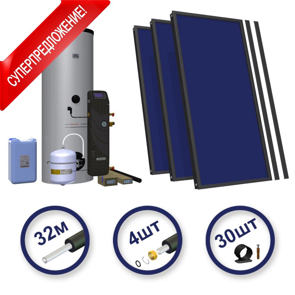Солнечный комплект Hewalex 3 TLPAm-300 фото товара