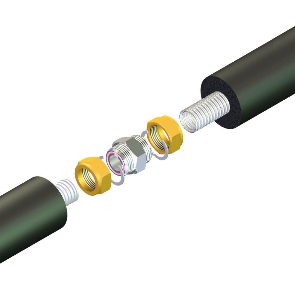 Соеденение 3/4' для гибкой трубы SNP-DN16 фото товара