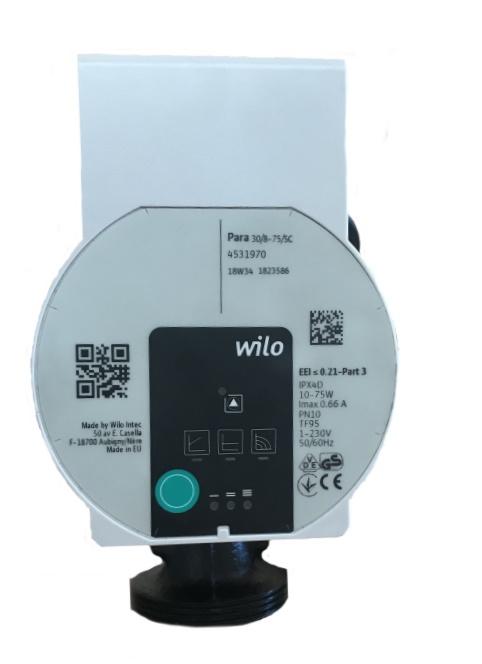 Насос энергосберегающий Wilo Yonos Para 30/8-75/SC-180 фото товара