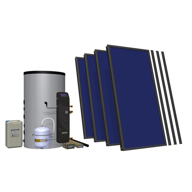 Солнечный комплект Hewalex 4 TLPAC-INTEGRA400 (KS2100) фото товара