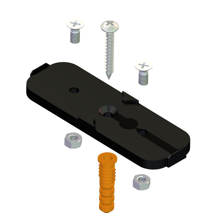 Подставка для держателя для гибкой трубы (25 шт) фото товара