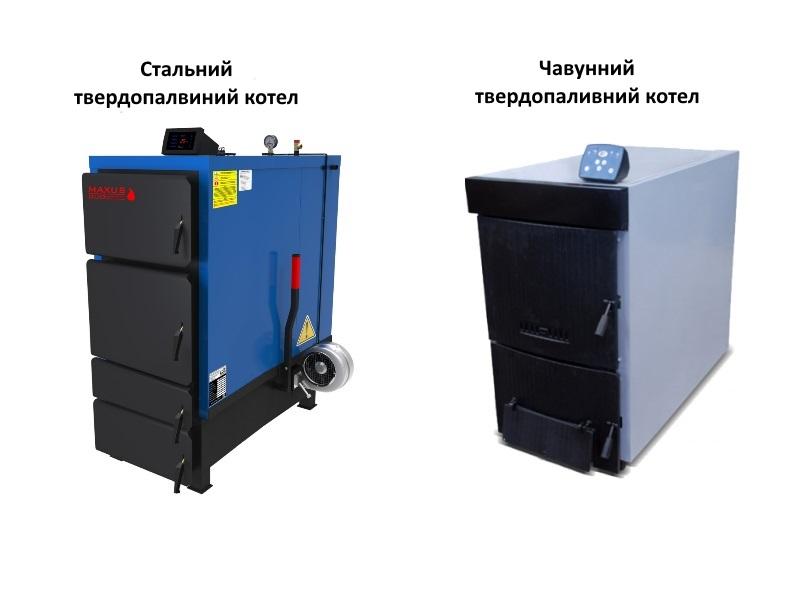 Матеріал твердопаливного котла фото